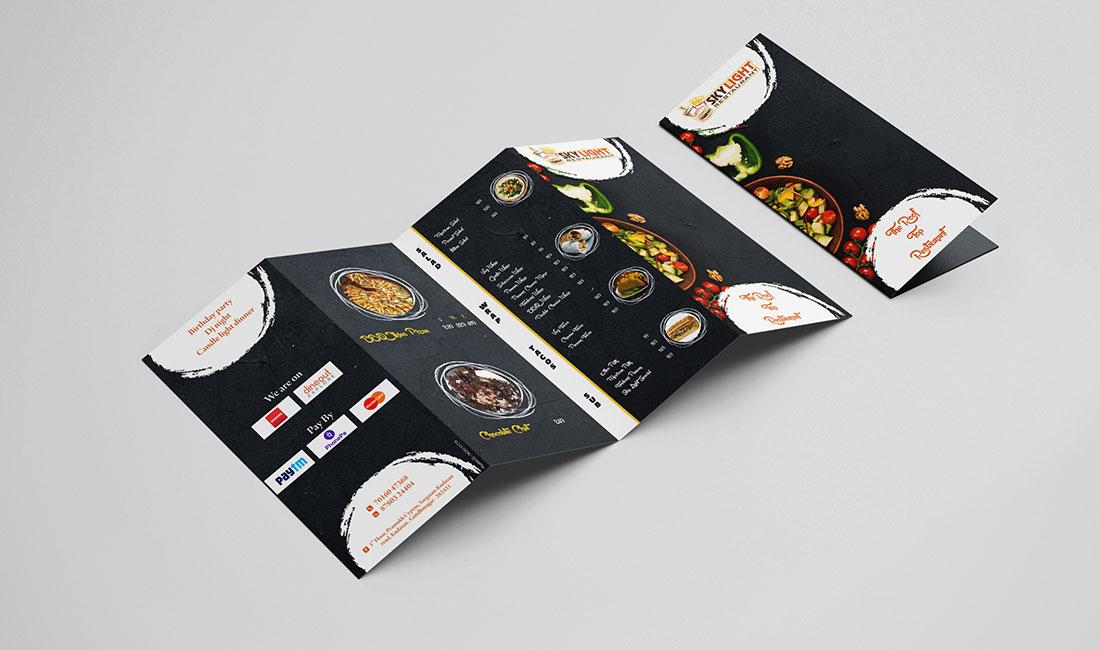 Restaurant-Take-Away Design In Gandhinagar